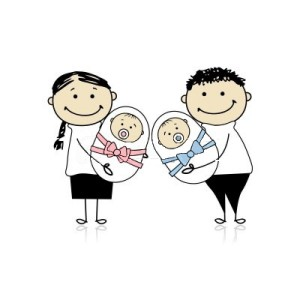 parents avec bébés